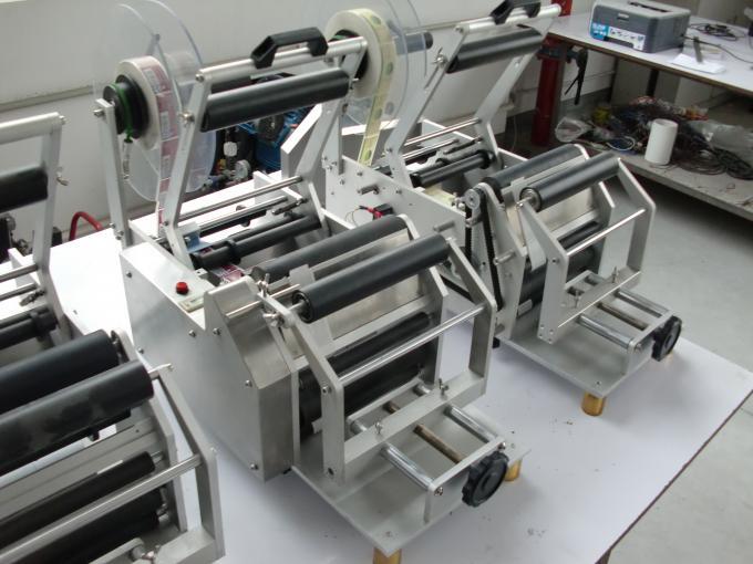 Selvklæbende klistermærke rund flaske automatisk etiketteringsmaskine 220V