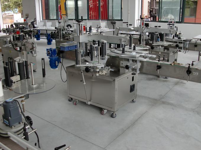 CE-certificering selvklæbende mærkat applikator maskine til shampoo flaske mærkning