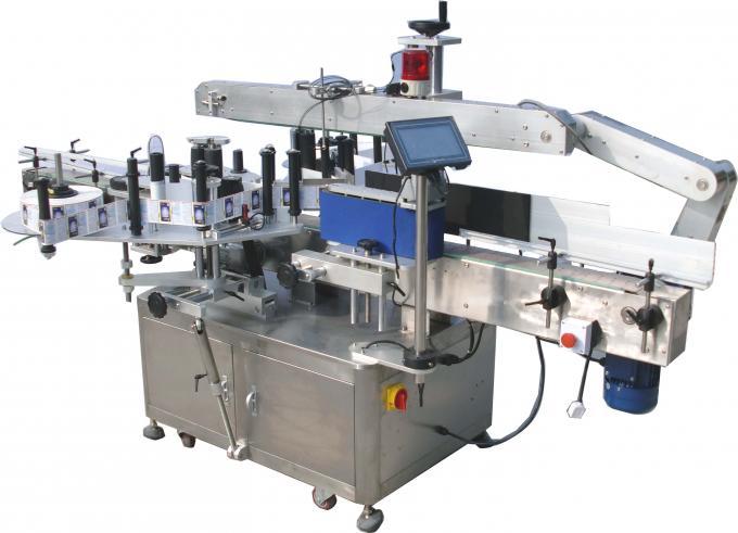 220V 3,5Kw automatisk mærkning maskine med dobbelt side klistermærke 60-350stk / min