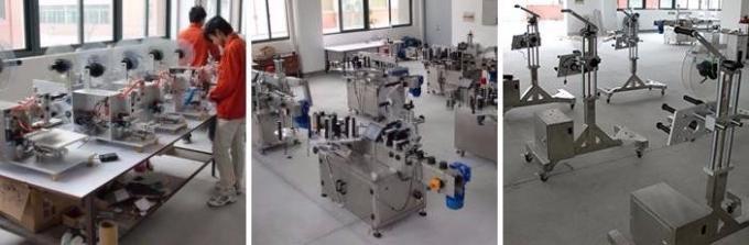 HIGGE lille plastflaskemærkningsmaskine, penicillinflaskemærkatmaskine