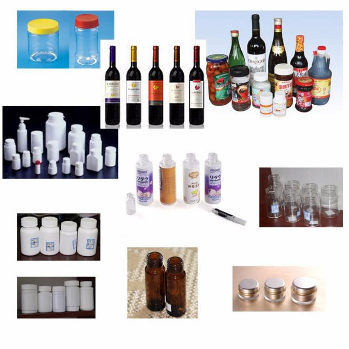 økonomi vand klæbende runde flasker etiket applikator