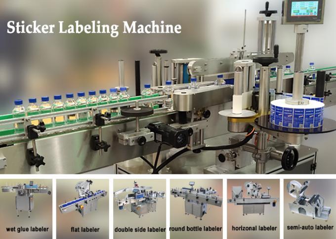 10 ml lille flaskemærkningsmaskine med PLC-drift, penicillin-etiketmærkatmaskine til lægemidler