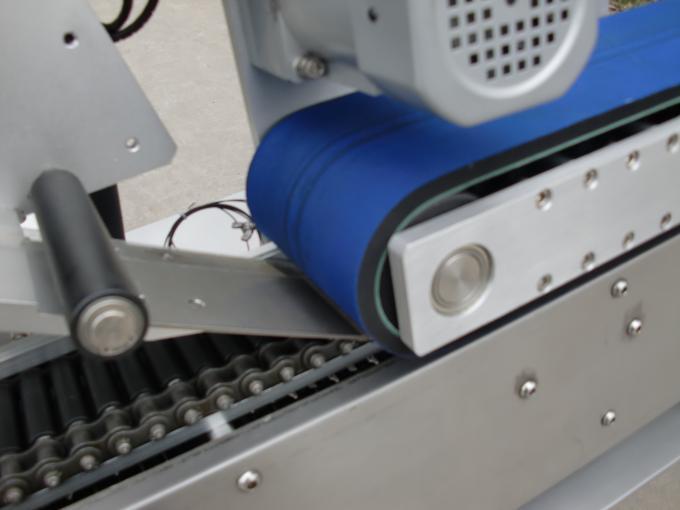PLC Control selvklæbende klistermærke automatisk etiketteringsmaskine til penicillinflaske