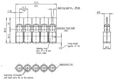 60-200 stk / min High Speed hætteglas mærkning maskine / 10 ml lille flaske mærkning maskine