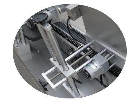 Papirrørsmærkningsmaskine 500 rullelæg, selvklæbende stofklistermærke