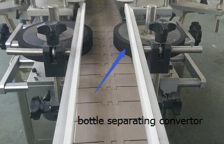Objekt detekterer magisk øje automatisk dobbelt side mærkat mærkning maskine med pladespiller