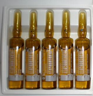 Fuld - Automatisk hætteglasmærkning maskinservomotor PLC-kontrol til amplouse-flasker