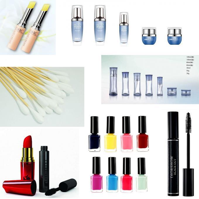 Automatisk hætteglas mærkning maskine neglelak etiket klistermærke maskine til kosmetik