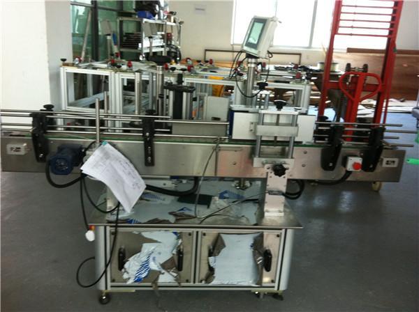 Automatisk klæbemærkemaskine til rund flaskemærker