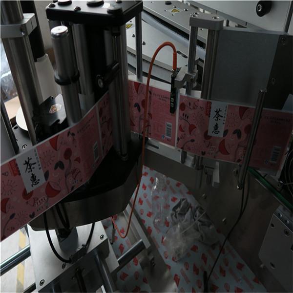 Firkantede og runde flasker automatiseret mærkning maskine 50Hz 2300W Power system