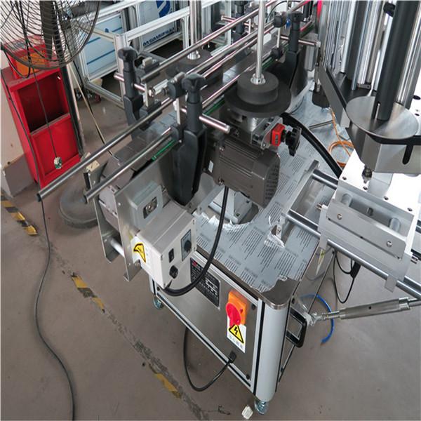 Mærkningsmaskine til dobbeltsidet mærkat, automatisk etiketapplikatormaskine