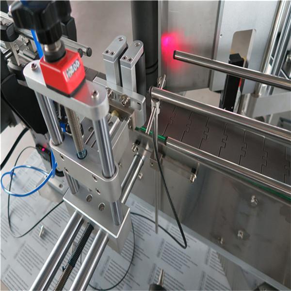 Rund flaske klistermærke mærkning maskine med drikke / daglig kemikalie