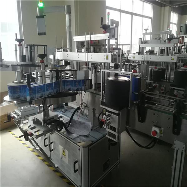 Selvklæbende mærkningsmaskine til plastflaske til kæledyr, flaskemærkningsapplikatormaskine