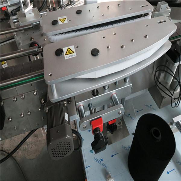 Fuldautomatisk mærkning af firkantede flaskemaskiner 4000-8000 B / H kapacitet
