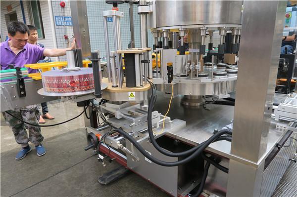 CE roterende klistermærke mærkning maskine enkelt fuldautomatisk flaske vinget