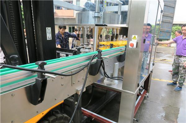 Front / bag automatisk etiketapplikatormaskine Udstyr Hastighed 18000B / H