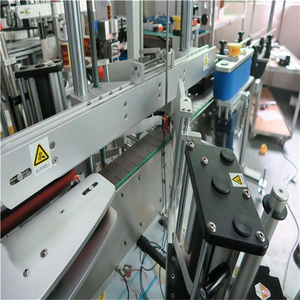 Automatisk selvklæbende mærkningsmaskine klistermærke tre etiketter 250BS / min Produktionshastighed