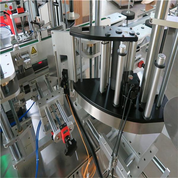 Selvklæbende klistermærke Oval flaskemærkning maskine tilpasset tilstand