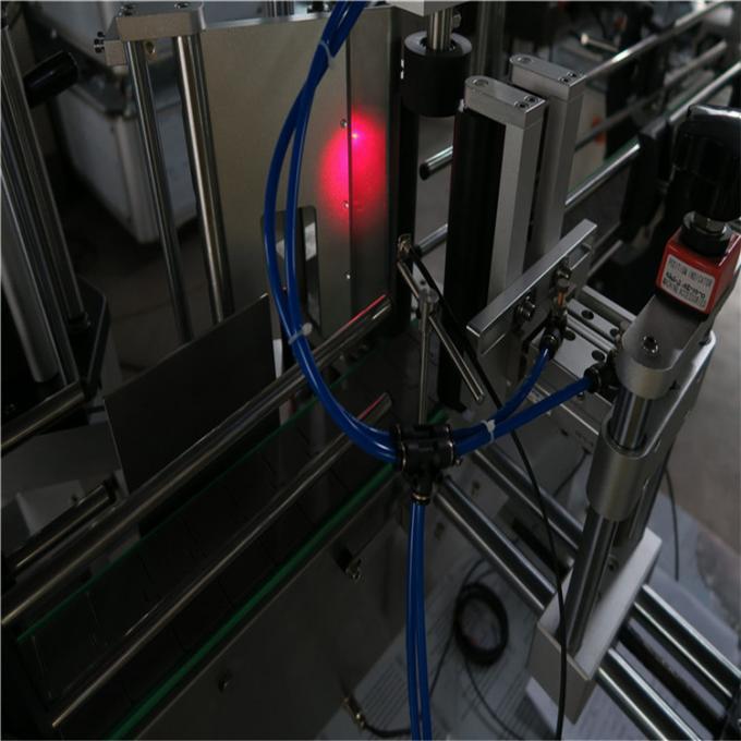 Vinflaske-etiketapplikator maskine High-Power Servomotor, ølflaskemærker