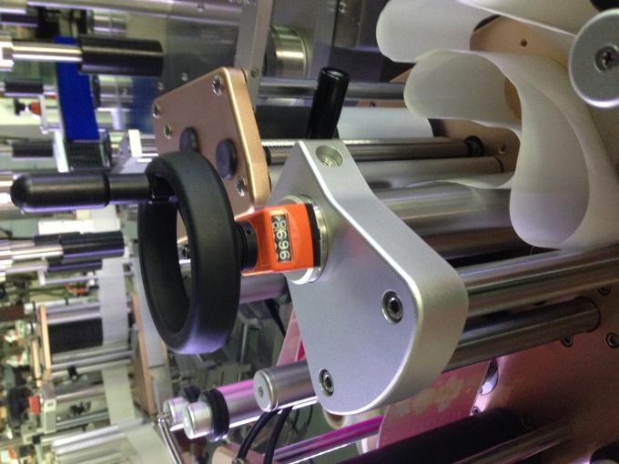 Rund flaske etiket applikator Elektrisk kabinet klistermærke maskine