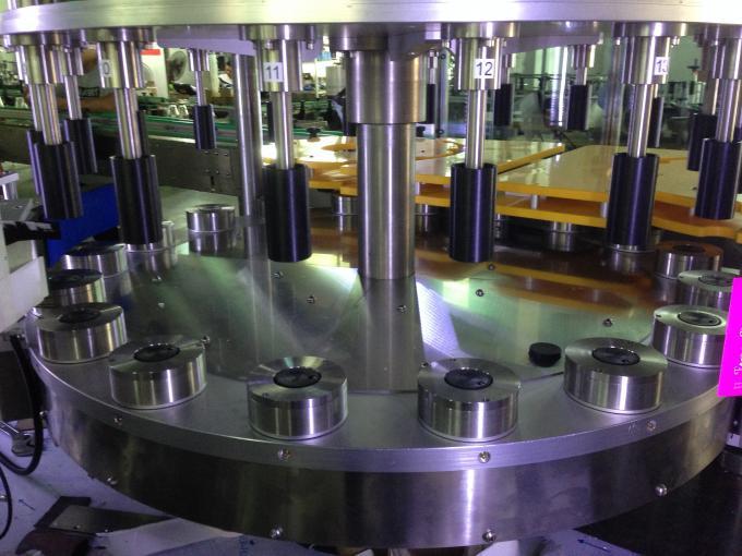 Højproduktion Vin / ølflaskemærkningsmaskine, rund flaskemærker