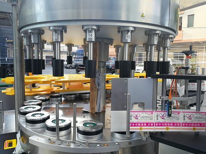 Højhastigheds roterende mærkatmaskine med rotationsfunktion
