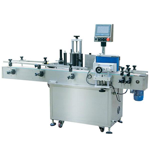 350 ml automatisk rund flaske selvklæbende mærkatmaskine