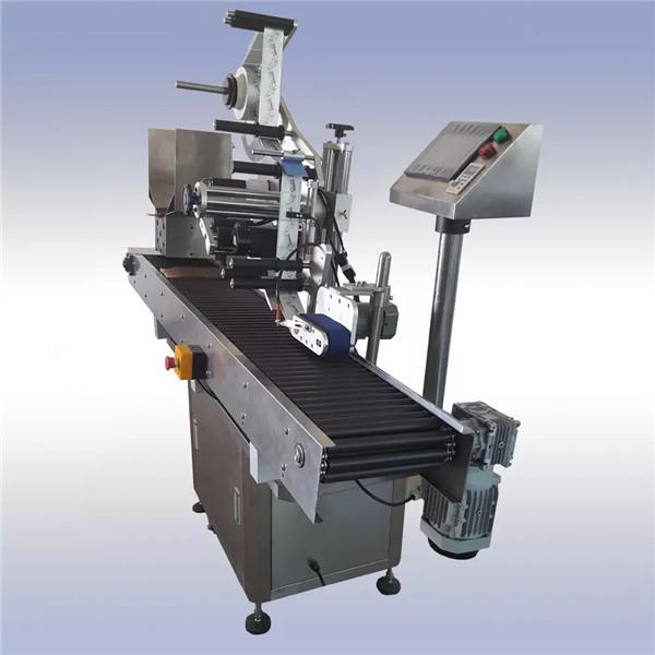 Selvklæbende automatisk mærkatmærkningsmaskine importeret motorstyring