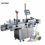 Automatisk aerosol dåser mærkat maskine til Pvc mad kan