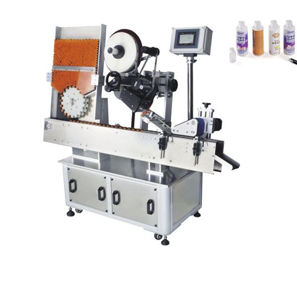Automatisk gødningspose hætteglas klistermærke mærkning maskine 220V 2kw