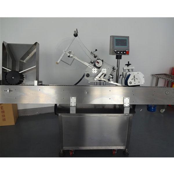 Automatisk etiketteringsmaskine til hætteglas til kæledyrsemballage