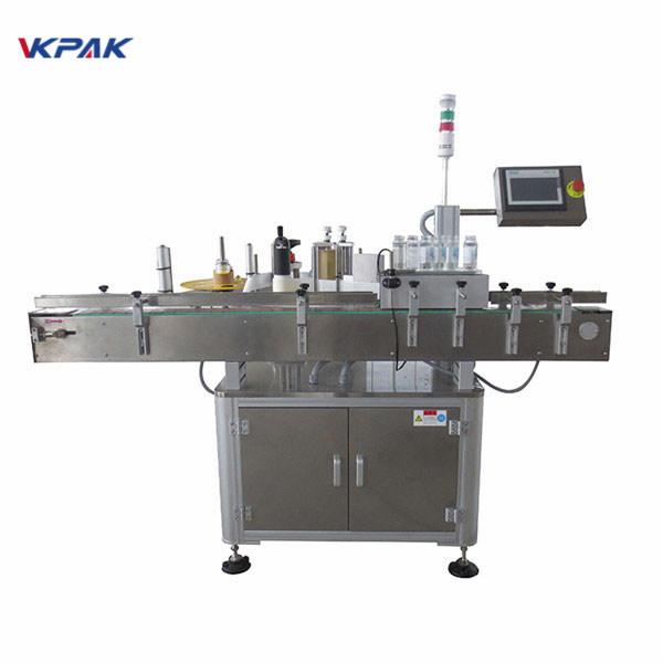 Automatisk klistermærke applikator maskine til ølflaske 220V 1,5H
