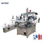 Automatiske mærkningsmaskiner med lodret vaskemiddelflaske med sirup med fast punkt