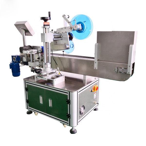 Automatisk hætteglasmærker vandret mærkningsmaskine aluminiumslegering