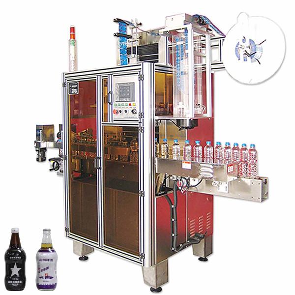Flaske drik krympe ærmeetiket maskine, krymp ærme etiket applikator