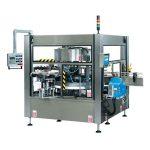 CE fuldautomatisk flaskevinget roterende klistermærke-maskine
