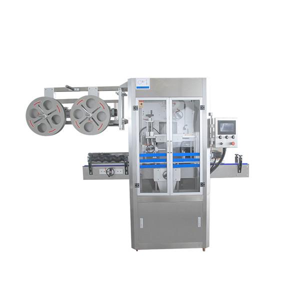 Cap forsegling rustfrit stål krympemuffe applikator maskine med dampgenerator