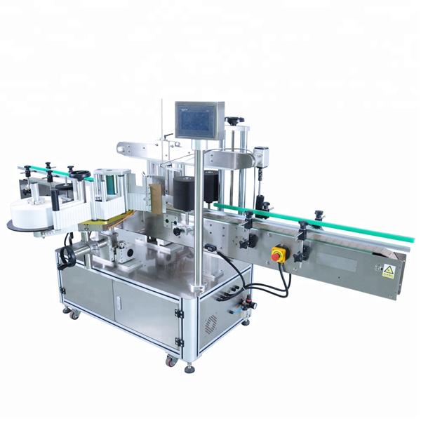 Tilpasset automatisk etiketapplikatormaskine til rund vaskemiddelflaske