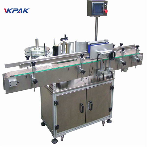 Tilpasset ølflaske klistermærke mærkning maskine 220V 20-200 stk pr. Minut