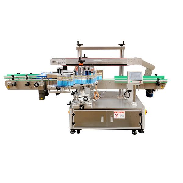 Dobbeltsidet omvikling af mærkningsmaskine