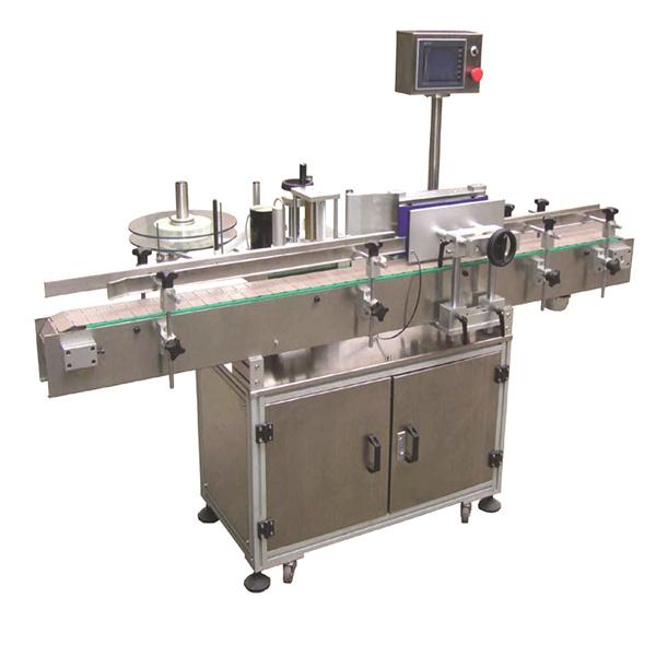 Fleksibel eger automatisk mærkatmærkningsmaskine med dobbeltsidepapirposer