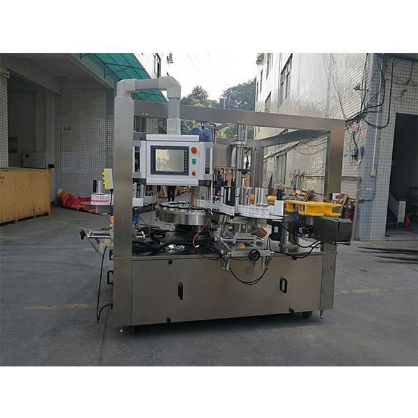 Højhastigheds roterende klistermærke maskine med påfyldningsmaskine bælte
