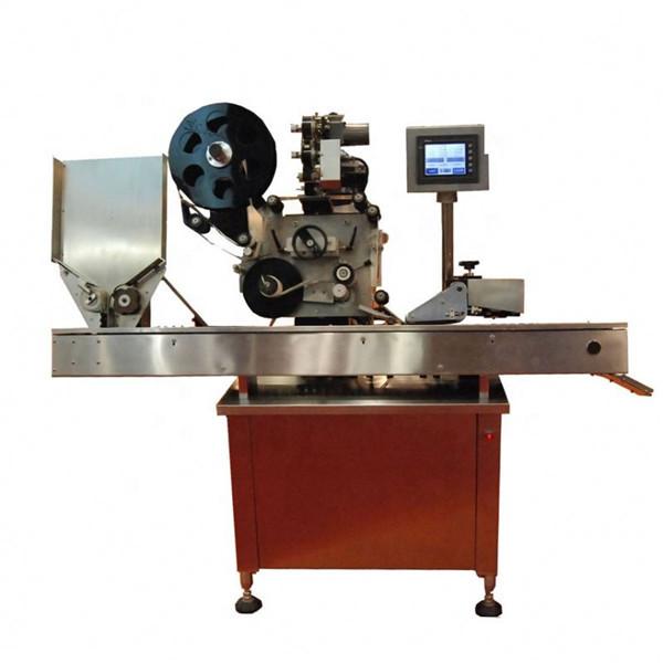 High Speed Sus304 Økonomiske automatiske krukker og flasker Hætteglasmærke maskine