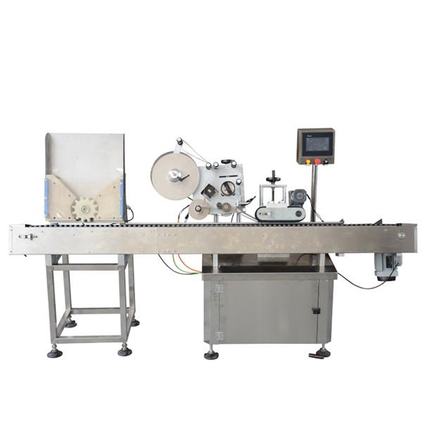 Højhastigheds hætteglas mærkning maskine Lille flaske mærkning maskine