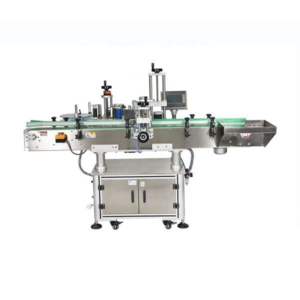 Intelligent PLC-styring Automatisk dobbelt side klistermærke maskine