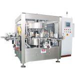 Juiceølflaske Enfoldig roterende klistermærke maskine