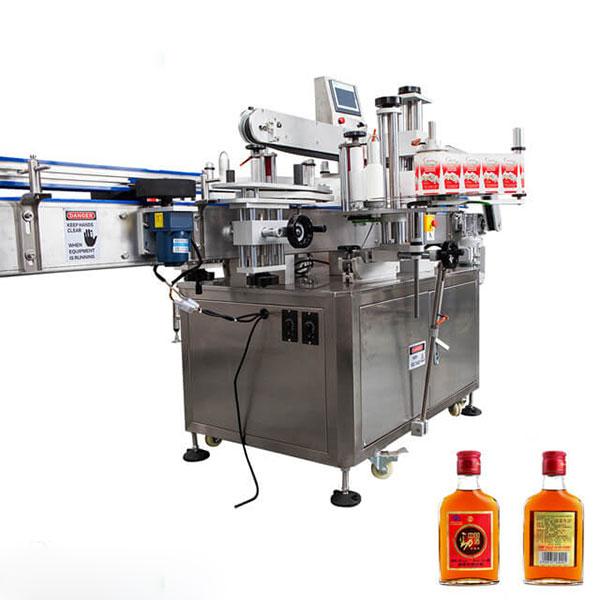 Mærkningsmaskine til kopper og runde flasker Fuldautomatisk stok