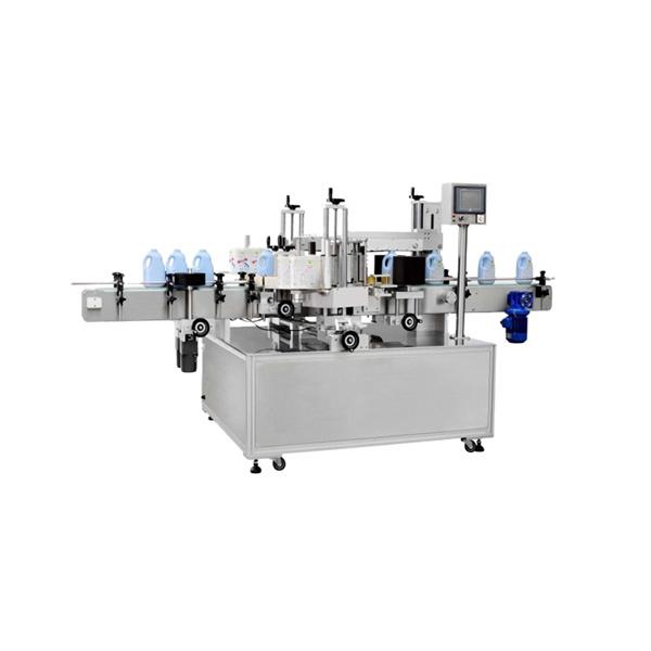 Multifunktionel firkantet flaskemærkningsmaskine