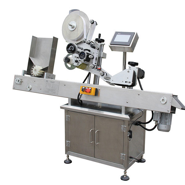 PLC Touch Screen Control Label Applicator Machine