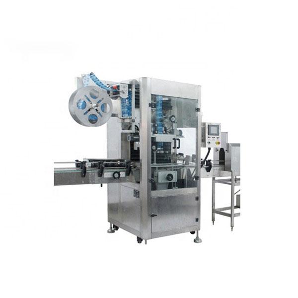 PVC krympearm applikator maskine fuldautomatisk krympemærke maskine
